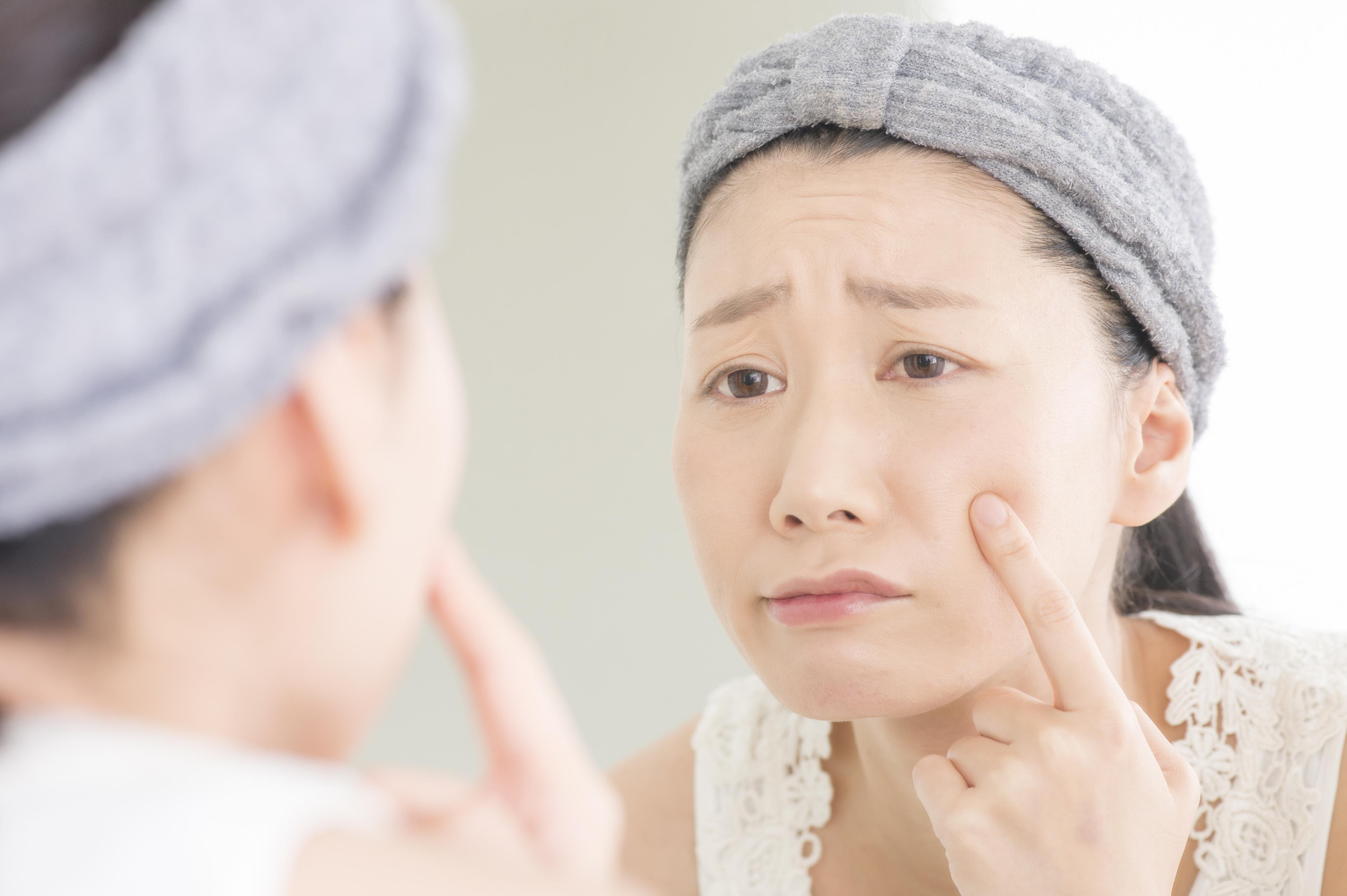 目の下のたるみ、原因と予防